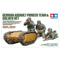 German Assault Pioneer Team & Goliath Set (1:35)
