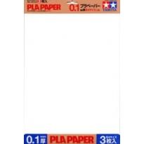 Plastik-Papier 0,1 mm (3 arkusze)