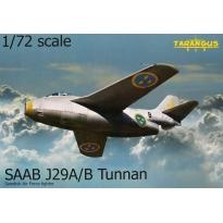 SAAB J29A/B Tunnan (1:72)
