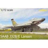SAAB J32B/E Lansen (1:72)