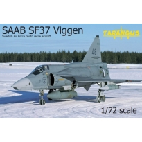 SAAB SF37 Viggen photo recce (1:72)