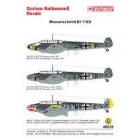 Messerschmitt Bf 110D (1:48)