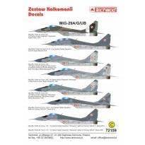 MiG-29A/G/UB (1:72)