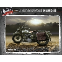 US Military Motorcycle Indian 741B (1:35)