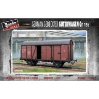German Gedeckter Guterwagen Gr 15t (1:35)