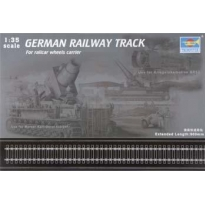 German Railway Track For Railcar wheels carrier (1:35)