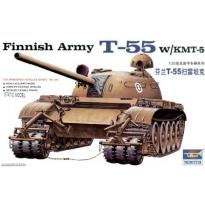 Finnish Army T-55 w/KMT-5 (1:35)
