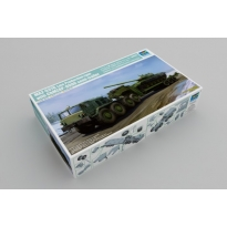 MAZ-537G Late Production type with ChMZAP-9990 semi-trailer (1:35)