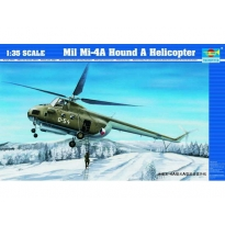 Mil Mi-4A Hound A Helicopter (1:35)