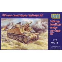 105mm howitzer motor carriage M7 (1:72)