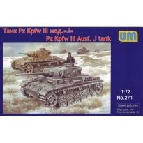Pz Kpfw III Ausf. J tank (1:72)