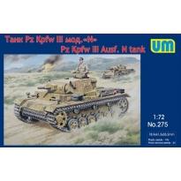 Pz Kpfw III Ausf. N tank (1:72)
