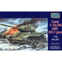 Tank T-34/85 with gun D5-T (model 1944) (1:72)