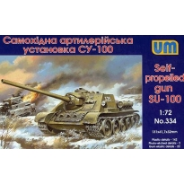 Self-propelled gun SU-100 (1:72)