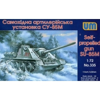Self-propelled gun SU-85M (1:72)