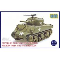 Medium Tank M4 (105) Sherman (1:72)