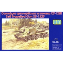 Self Propelled Gun SU-122P (1:72)