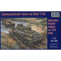 Recovery tractor based on T-34 tank (1:72)