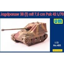 Jagdpanzer38(t) mit 7.5 cm Pak42L/70 (1:72)