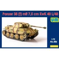 Panzer38(t) mit 7.5 cm KwK 40L/48 (1:72)