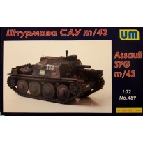 Unimodels 489 Sau M/43 Self Propelled Gun (1:72)