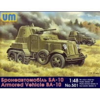 Armored vehicle BA-10 (1:48)