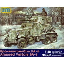 Armored Vehicle BA-6 (1:48)