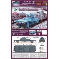 """Armored platform """"Tank destroyer"""" (1:72)"""