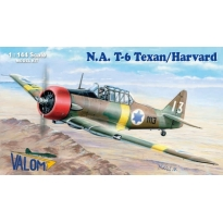 North American T-6 Texan/Harvard (double set, four markings) (1:144)
