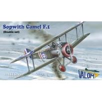 Sopwith F.1 Camel - double set (2 modele) (1:144)