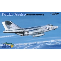 McDonnell F-101A +  Mk.7 nuclear bomb (1:72)