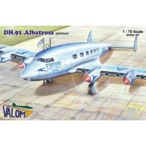 De Havilland DH.91 Albatross (airliner) (1:72)