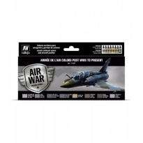Armée de l'Air colors post WWII to present (8 x 17 ml.)