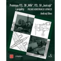 Prototypy PZL. 38 Wilk, PZL. 50 Jastrząb i projekty (nr.5)