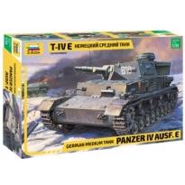 German Medium Tank Panzer IV Ausf.E (1:35)