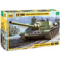 Soviet tank destroyer SU-100 (1:35)