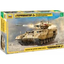 "Russian military machine fire support tanks ""Terminator-2"" (1:35)"