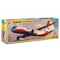 Civil Airliner Tu-204-100 (1:144)