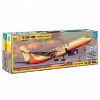 Zvezda 7031 Cargo Airplanr Tu-204-100C (1:144)