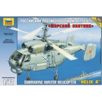 "Zvezda 7214 Submarine Hunter Helicopter Ka-27 ""Helix A"" (1:72)"
