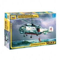 "Zvezda 7247 Russian Rescue Helicopter Ka-27 ""Helix D"" (1:72)"