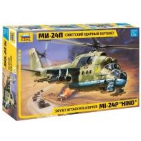 "Zvezda 7315 Soviet Attack Helicopter MI-24P ""Hind"" (1:72)"
