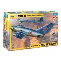 """Soviet fighter MiG-15 """"Fagot"""" (1:72)"""