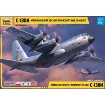 Zvezda 7321 C-130H Hercules (USA, RAF, Poland, Japan, Korea) (1:72)