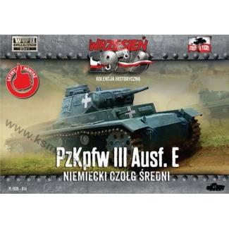 First to Fight Pz. Kpfw. III Ausf.E - Niem.czołg średni (1:72)