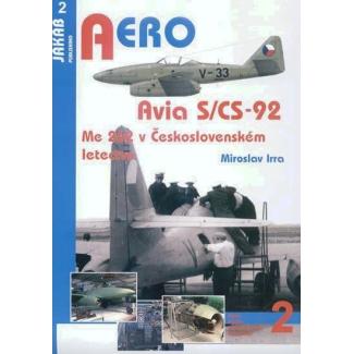 Jakab Aero Avia S/CS-92 (Me 262 v Československém letectvu)