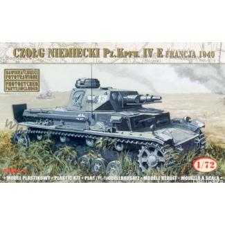 "Czołg Niemiecki Pz.Kpfw. IV E ""Francja 1940"" (1:72)"