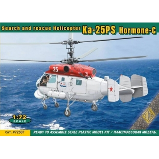 """Search and rescue Helicopter Kamov Ka-25PS """"Hormone-C"""" (1:72)"""