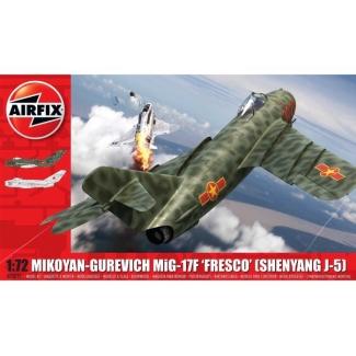 Mikoyan-Gurevich MiG-17F 'Fresco' (Shenyang J-5) (1:72)