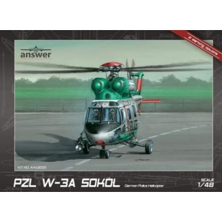 "Answer AA48005 PZL W-3A Sokół ""German Police Helicopter"" (1:48)"